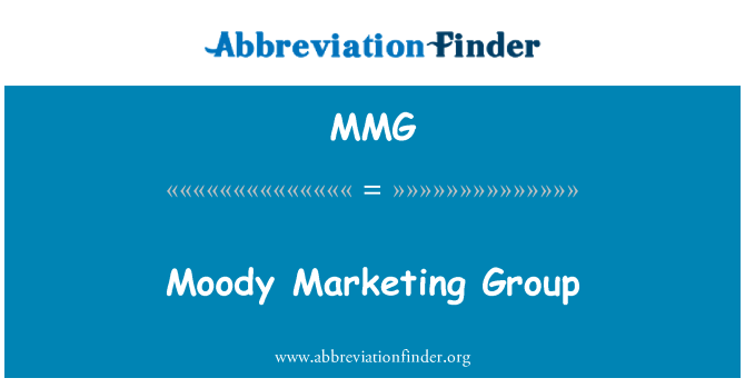 MMG: Moody Marketing Group