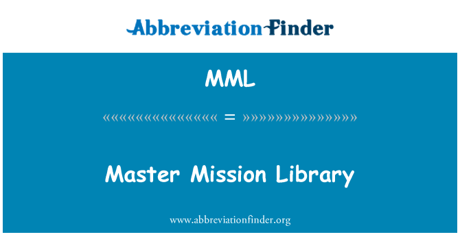 MML: Master Mission Library