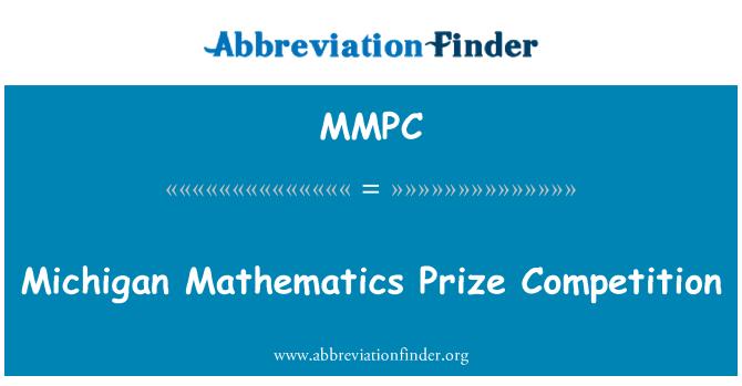 MMPC: Michigan matematik Hadiah pertandingan