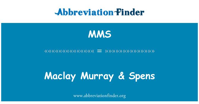 MMS: Maclay Murray & Spens