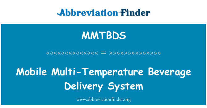 MMTBDS: Mobile Multi-Temperature Beverage Delivery System