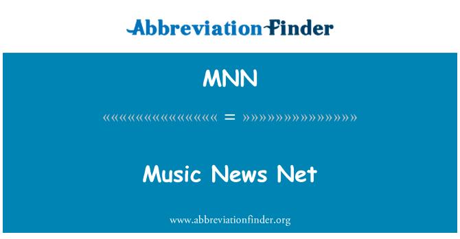 MNN: Music News Net