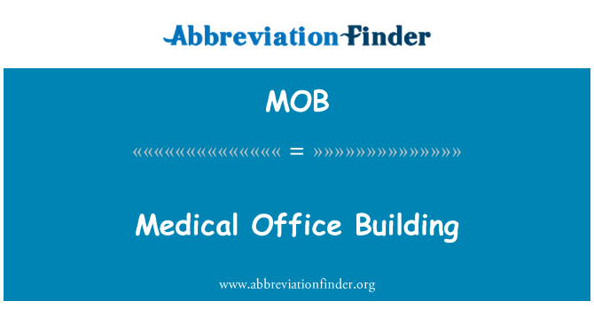 MOB: Medical Office Building