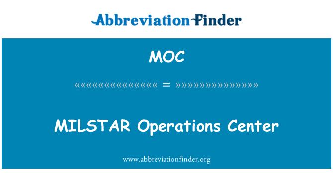 MOC: MILSTAR Operations Center