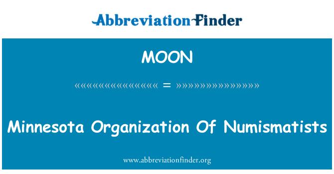 MOON: Minnesota organisatsiooni Numismatists