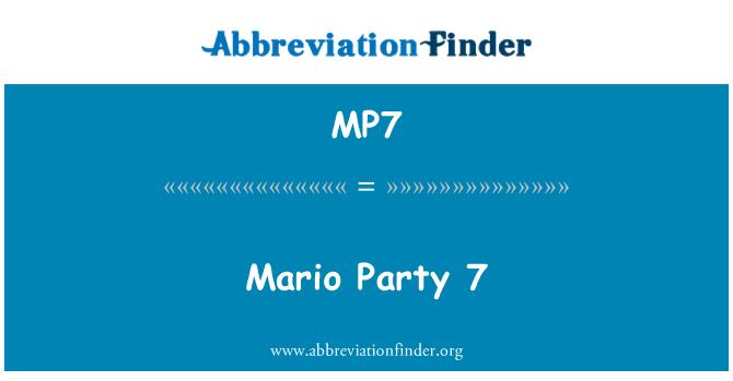 MP7: Mario Party 7