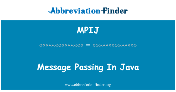 MPIJ: Message Passing In Java