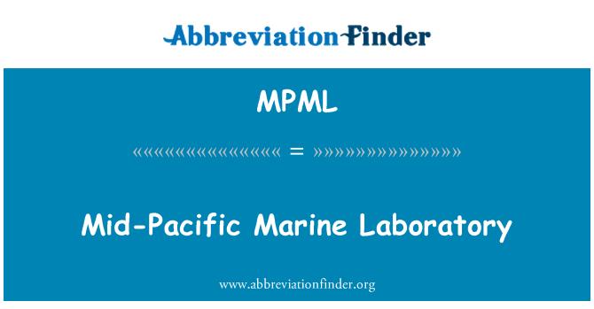 MPML: Orta Pasifik Deniz Bilimleri Merkezi