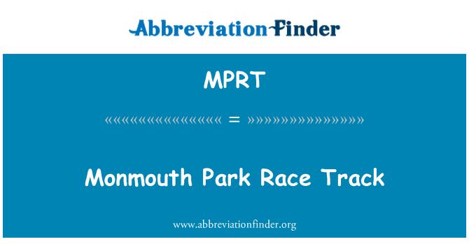 MPRT: Monmouth Park staze