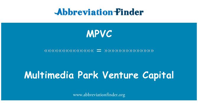 MPVC: Multimedia Park Venture Capital