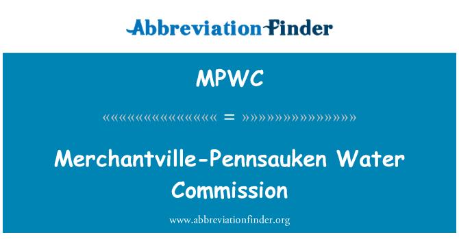MPWC: Merchantville-Pennsauken Water Commission