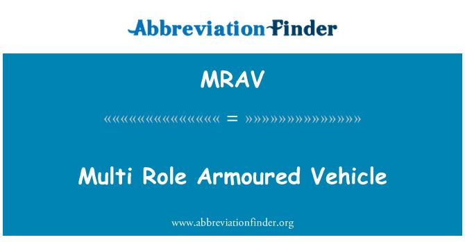 MRAV: Multi Role Armoured Vehicle