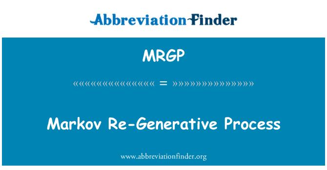 MRGP: Proceso regenerador Markov