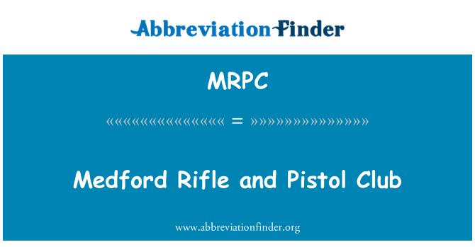 MRPC: Medford tüfek ve tabanca kulüp