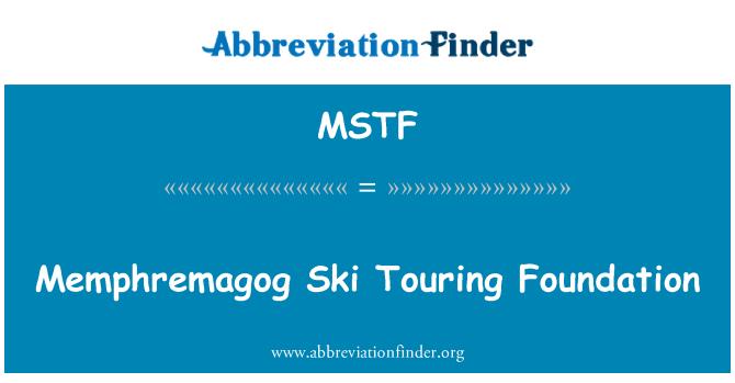 MSTF: Memphremagog tur kayağı Vakfı