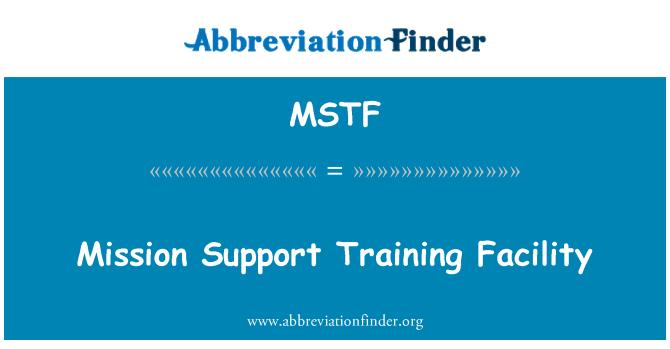 MSTF: Missiooni toetust koolituse pakkumine