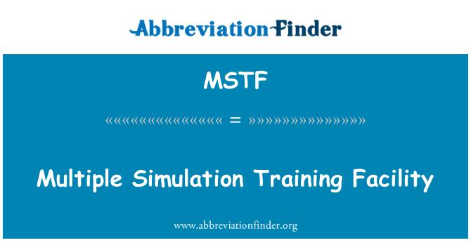 MSTF: Mitu simulatsiooni koolituse pakkumine