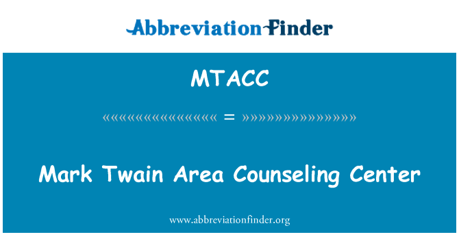 MTACC: Mark Twain Area Counseling Center
