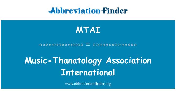 MTAI: Música-Tanatología Asociación Internacional