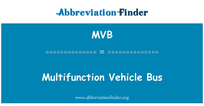 MVB: Multifunction Vehicle Bus