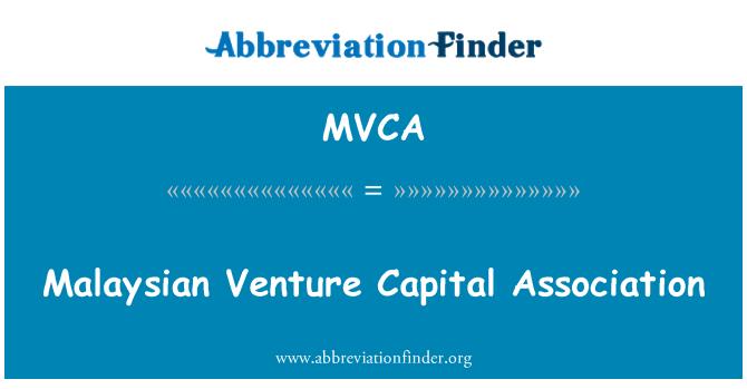 MVCA: Malezya girişim sermayesi Derneği