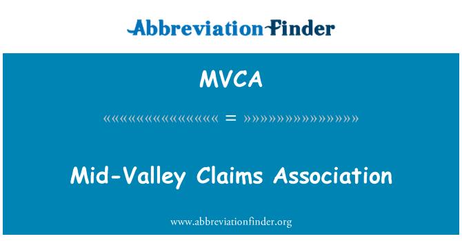 MVCA: Orta Vadisi iddiaları Derneği