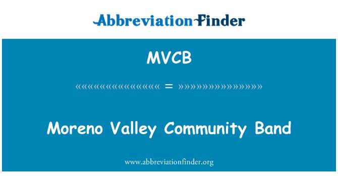 MVCB: Moreno Valley Community Band