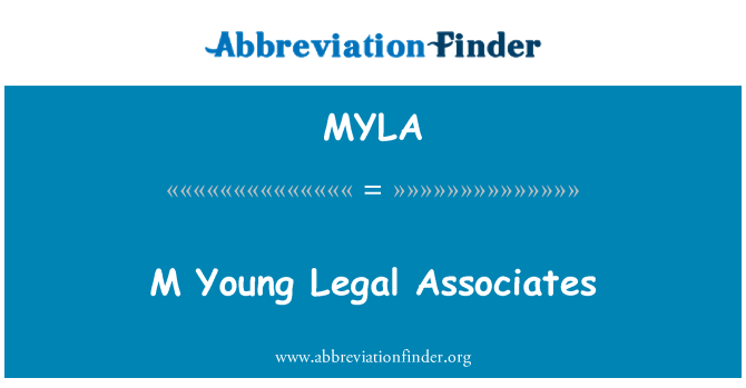 MYLA: M Young Legal Associates