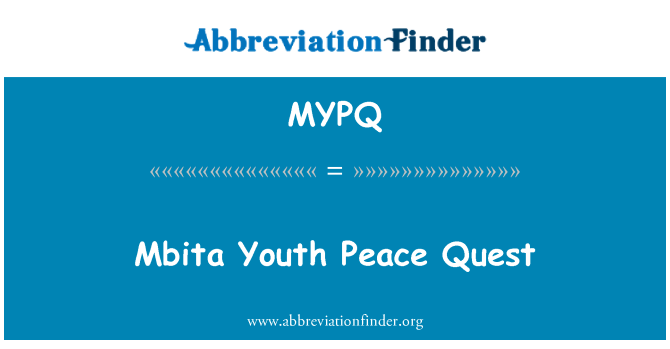 MYPQ: Mbita Youth Peace Quest