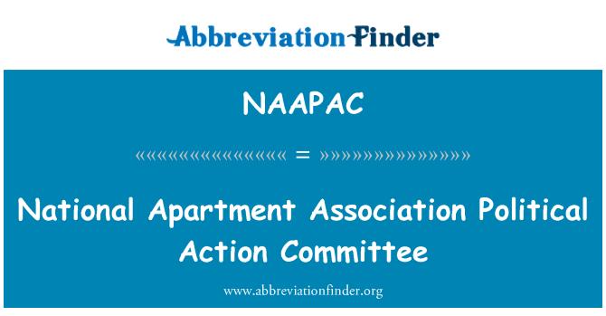 NAAPAC: Apartamento nacional Asociación Comité de acción política
