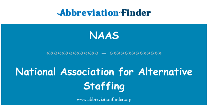 NAAS: National Association for Alternative Staffing