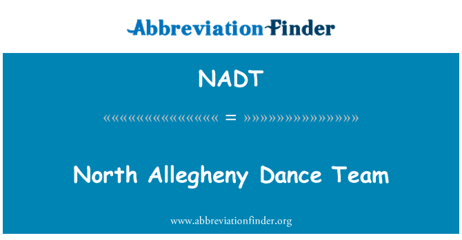 NADT: Grupo de baile de North Allegheny