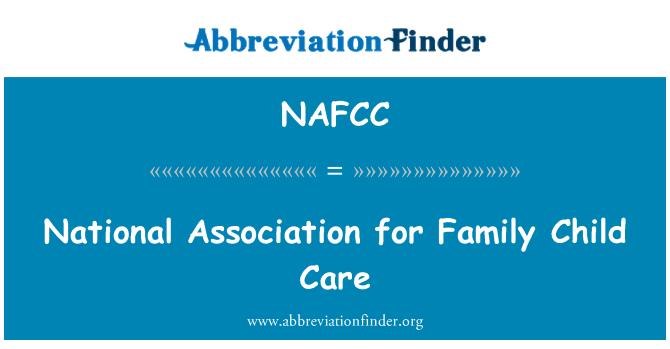NAFCC: National Association for Family Child Care