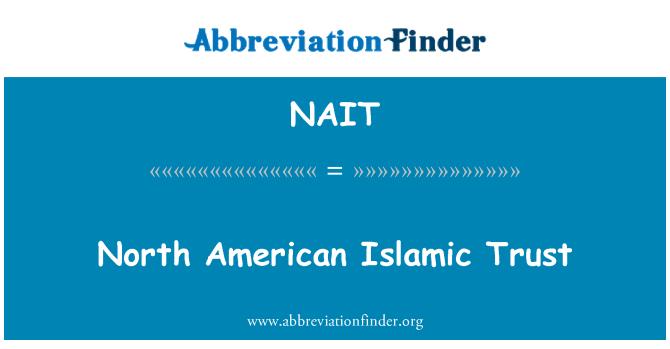 NAIT: Põhja-Ameerika islami usalduse