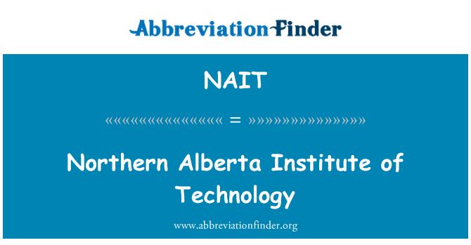 NAIT: Põhja-Alberta Institute of Technology