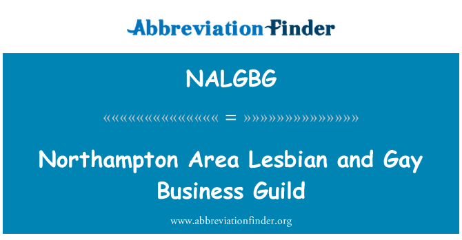 NALGBG: Northampton Area Lesbian and Gay Business Guild