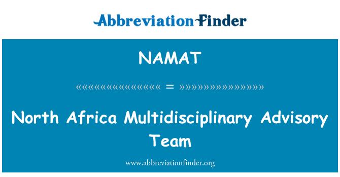 NAMAT: Sjevernoj Africi multidisciplinarni savjetodavni tim