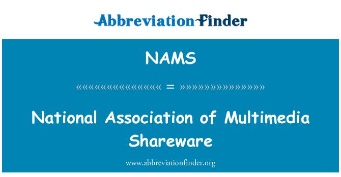 NAMS: Asociación Nacional de Shareware Multimedia
