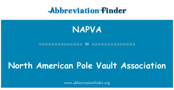 NAPVA: North American Pole Vault Association