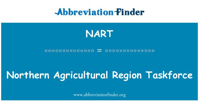 NART: Grupo de trabajo de la región agrícola del norte