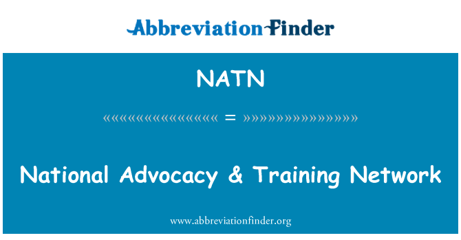NATN: Ulusal Savunma & ağ eğitimi