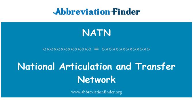 NATN: Riigi liigendus ja ülekandmise võrgu