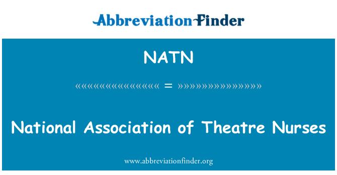 NATN: Ulusal Tiyatro Hemşireler Derneği