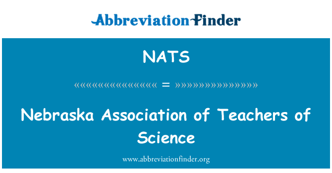NATS: Nebraska Association of Teachers of Science