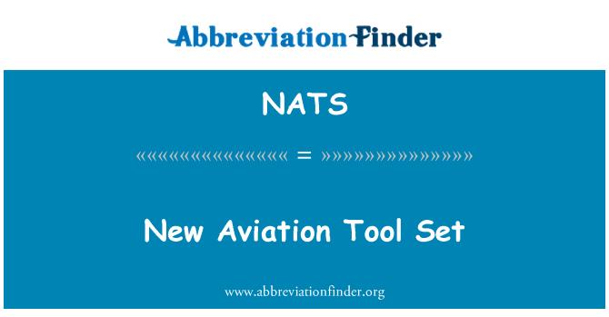 NATS: Nuevo conjunto de herramientas de aviación