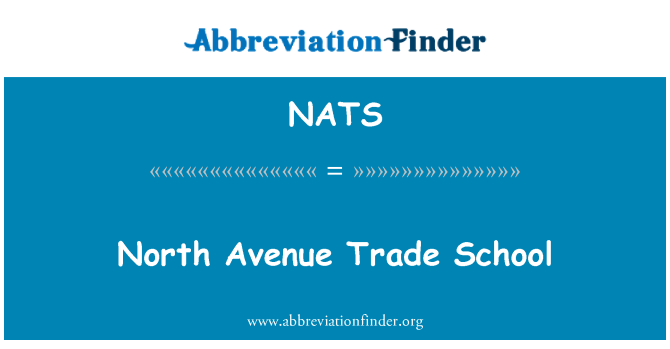 NATS: Escuela de comercio Avenue North