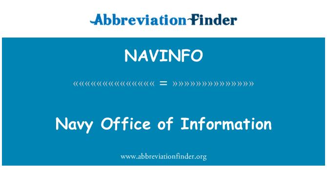 NAVINFO: Navy Office of Information