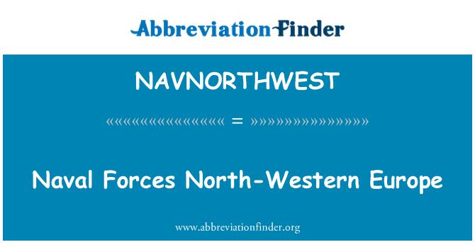 NAVNORTHWEST: Naval Forces North-Western Europe