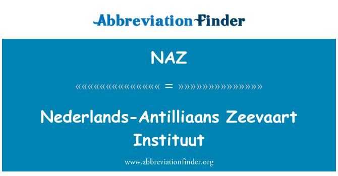 NAZ: Nederlands-Antilliaans Zeevaart Instituut