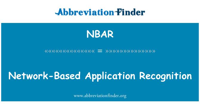 NBAR: Ağ tabanlı uygulama tanıma